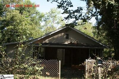 Greenville Single Family Home For Sale: 118 Odom