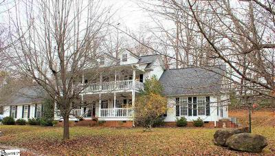 Taylors Single Family Home For Sale: 55 N Packs Mountain