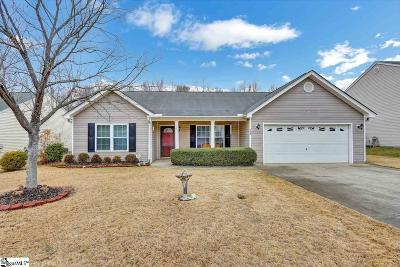 Easley Single Family Home For Sale: 228 Rivers Edge
