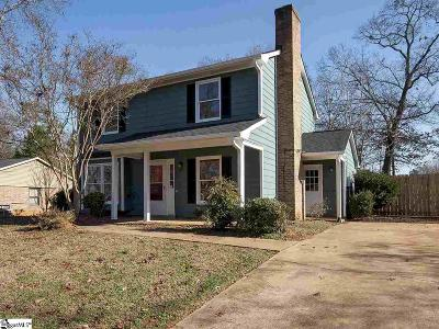 Mauldin Single Family Home For Sale: 121 Manchester