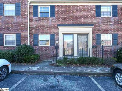 Greenville Condo/Townhouse For Sale: 2530 E North #11C