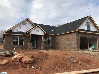 Greer Single Family Home For Sale: 105 Pleasant Meadow
