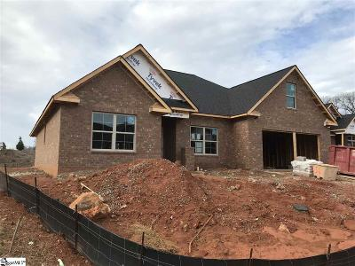 Greer Single Family Home For Sale: 101 Pleasant Meadow