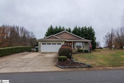 Greer Single Family Home For Sale: 400 Panther