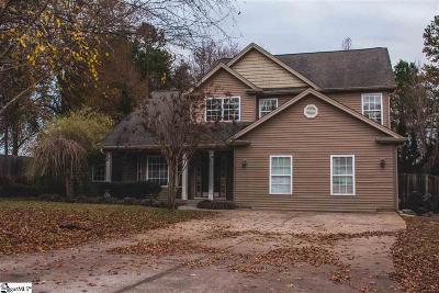 Greer Single Family Home For Sale: 9 Soma