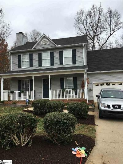 Simpsonville Single Family Home Contingency Contract: 15 Greyleaf