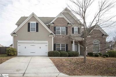Simpsonville Single Family Home For Sale: 19 Valley Bluff