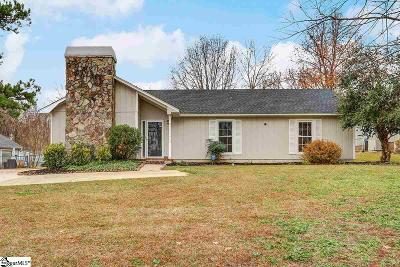 Greer Single Family Home Contingency Contract: 323 Saratoga