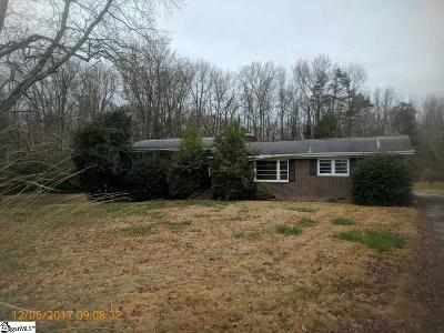 Simpsonville Single Family Home For Sale: 209 Balcome
