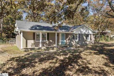 Piedmont Single Family Home Contingency Contract: 130 Valley Brook
