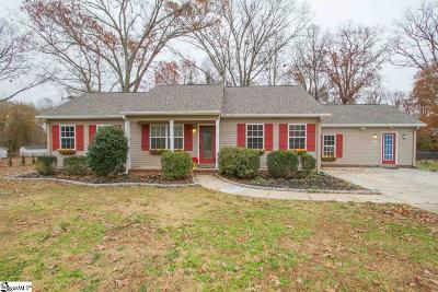 Greenville County Single Family Home For Sale: 1606 Hudson