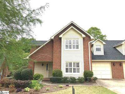 Greenville Condo/Townhouse For Sale: 102 Fairoaks