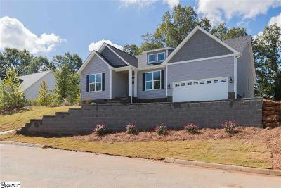 Simpsonville Single Family Home For Sale: 501 Hudders Creek