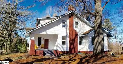 Greenville Single Family Home For Sale: 10 Jeff