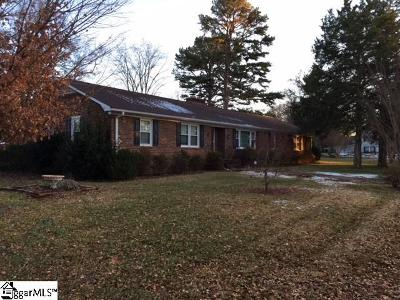 Greenville County Single Family Home For Sale: 7 Overton
