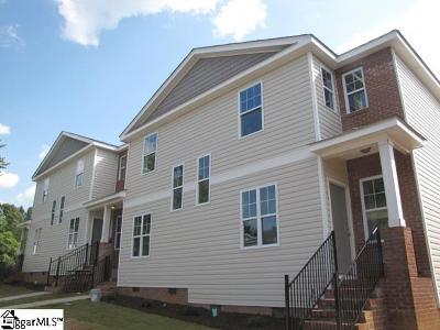 Greer Condo/Townhouse For Sale: 124 Huntress