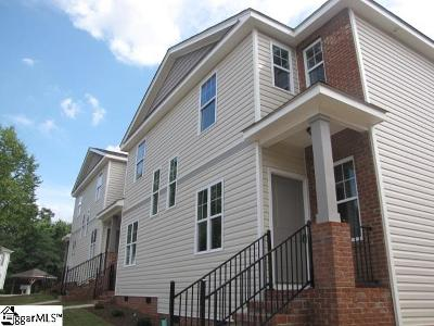 Greer Condo/Townhouse For Sale: 126 Huntress
