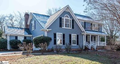 Greenville County Single Family Home Contingency Contract: 12 W Shefford