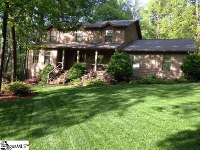 Greenville SC Single Family Home For Sale: $290,000