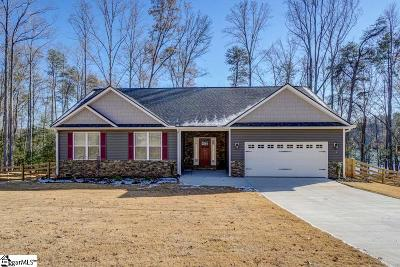 Greer Single Family Home For Sale: 1855 Lake Cunningham