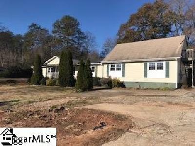 Greenville SC Single Family Home For Sale: $93,600