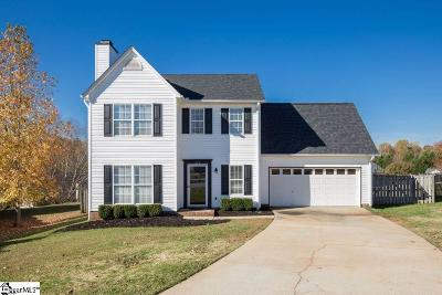 Greer Single Family Home For Sale: 219 Big Fox