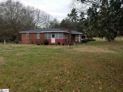 Easley Single Family Home For Sale: 1615 Cedar Rock Church