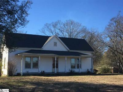 Pelzer Single Family Home For Sale: 151 Bryant