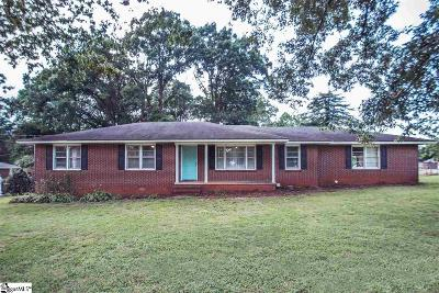 Anderson Single Family Home For Sale: 401 Lewis