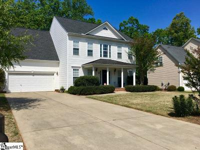 Travelers Rest Single Family Home For Sale: 10 Baytree