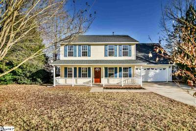 Simpsonville Single Family Home For Sale: 142 Kingfisher