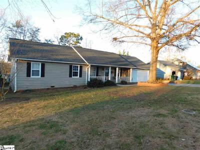 Simpsonville Single Family Home Contingency Contract: 602 Brentwood