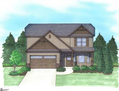 Boiling Springs Single Family Home For Sale: 668 Ivywood #Lot 112