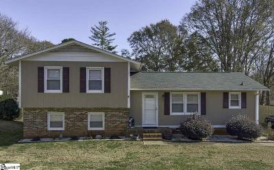 Simpsonville Single Family Home For Sale: 505 Agewood