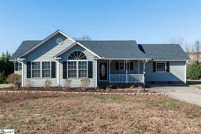 Boiling Springs Single Family Home For Sale: 112 Cannon Brooke