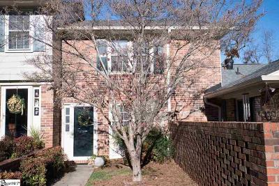 Greenville SC Condo/Townhouse For Sale: $89,000