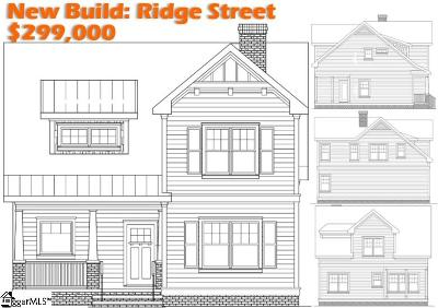 Downtown Single Family Home Contingency Contract: 7 Ridge #Lot B