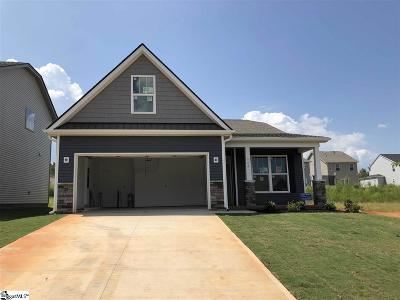 Boiling Springs Single Family Home For Sale: 664 Ivywood #Lot 113