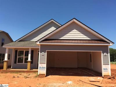 Boiling Springs Single Family Home For Sale: 665 Ivywood #Lot 135