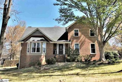 Greer Single Family Home For Sale: 100 Walton