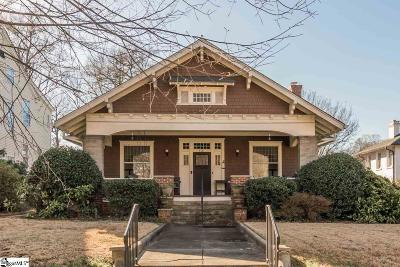 Spartanburg Single Family Home For Sale: 198 Mills