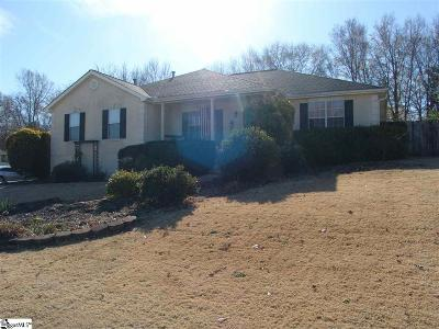 Greer Single Family Home For Sale: 337 Cornelson