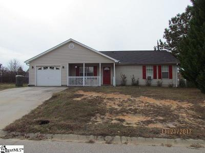 Fountain Inn Single Family Home Contingency Contract: 405 Country Gardens