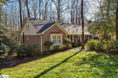 Greer Single Family Home For Sale: 703 Sugar Mill