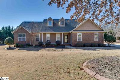 Greer Single Family Home For Sale: 115 Forest Cove