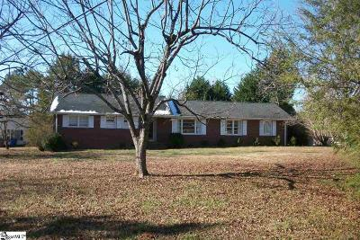 Greenville Single Family Home Contingency Contract: 1103 Saluda Lake