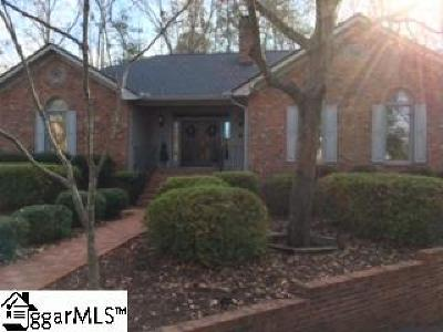 Greer Single Family Home For Sale: 212 Baucom Park