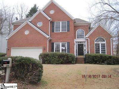 Greenville County Single Family Home For Sale: 104 E Glohaven