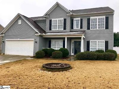 Simpsonville Single Family Home Contingency Contract: 300 Blue Sage