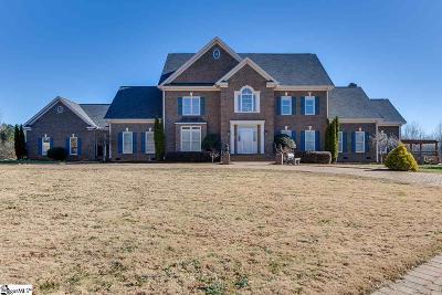 Pelzer Single Family Home For Sale: 1221 Reedy Fork
